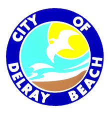 Delray Beach moving company with city logo image