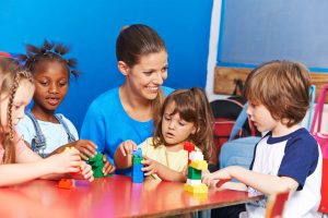 after school care with children